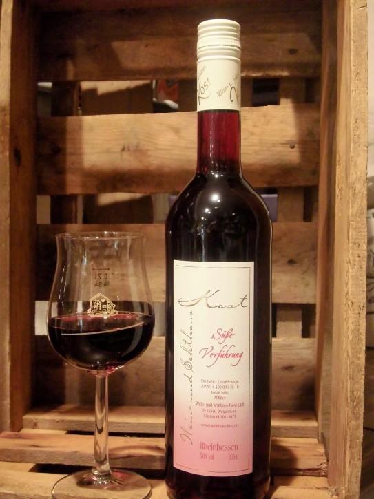 2017 süße Verführung Rotwein -süß- 0,75l -