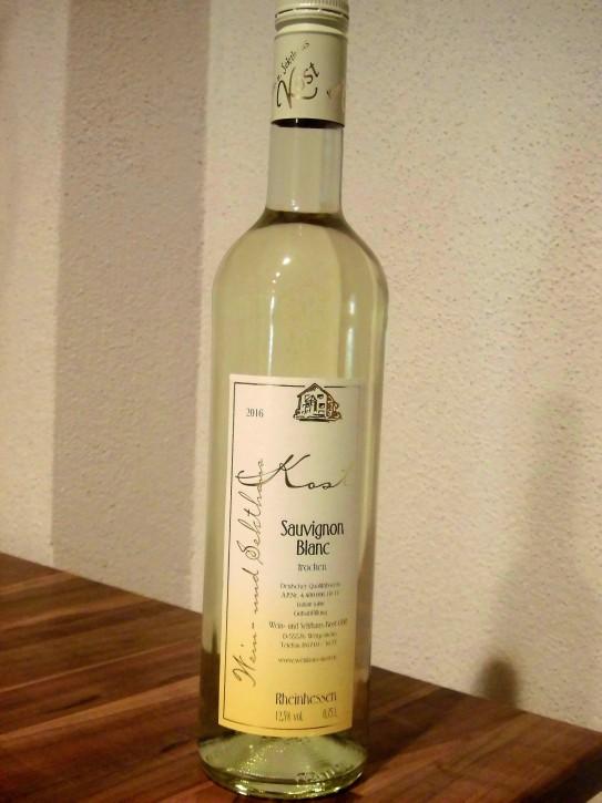 2016 Sauvignon blanc -trocken- 0,75l -Broze Kammerpreismünze-