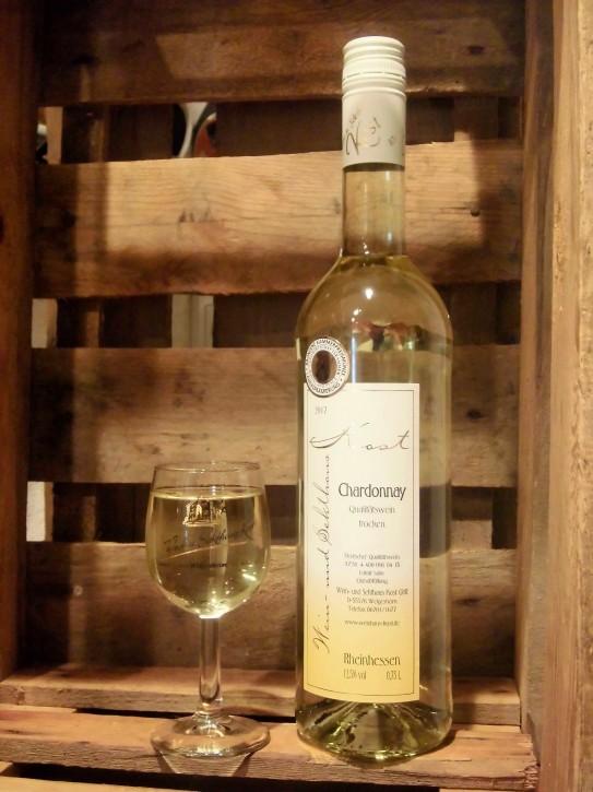 2017 Chardonnay -trocken- 0,75l -BRONZE KAMMERPREISMÜNZE-