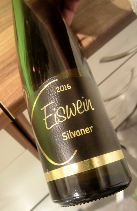 2016 EISWEIN Silvaner 0,375l -GOLDENE KAMMERPREISMÜNZE-