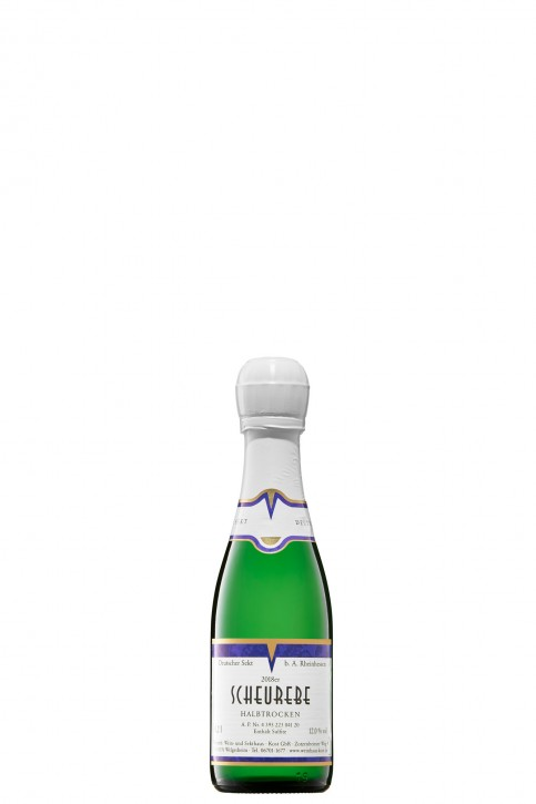 SCHEUREBE -halbtrocken- Sekt PICCOLO 0,2l