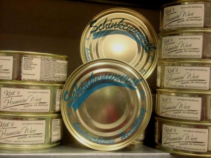 Schinkenwurst 200-g-Konserve
