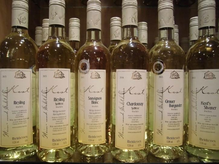 6er Probierpaket Weißwein  -trocken- 4Fl. 0,75l + 2 Fl.1l