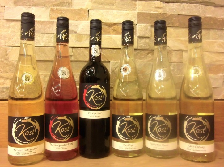 6er Probierpaket prämierte Rot- Rosé- u. Weißweine -trocken- 6 Fl. x 0,75l