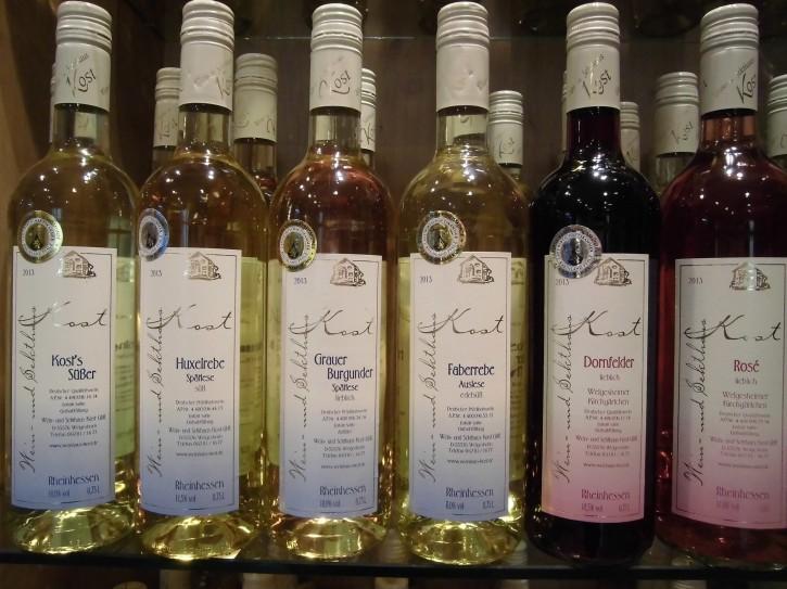 6er Probierpaket Rot- u. Weißweine -lieblich- 5 Fl. x 0,75l + 1 Fl x 1l