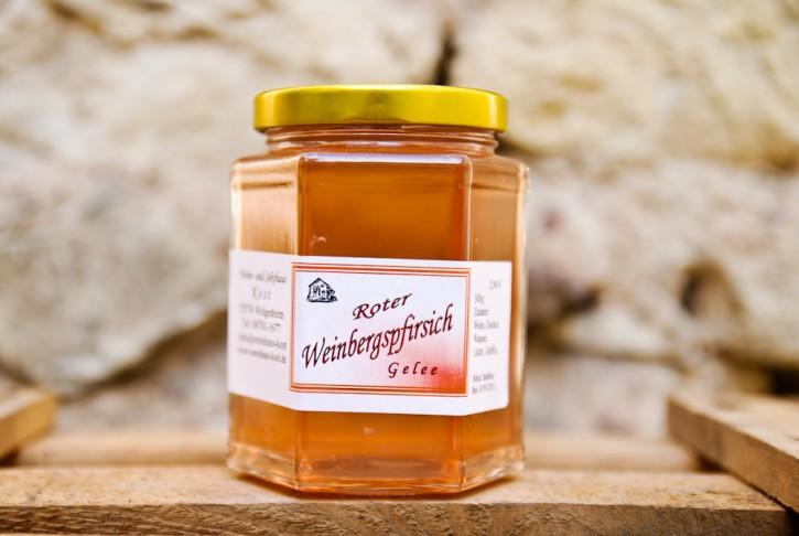Roter Weinbergspfirsich - Gelee 300g